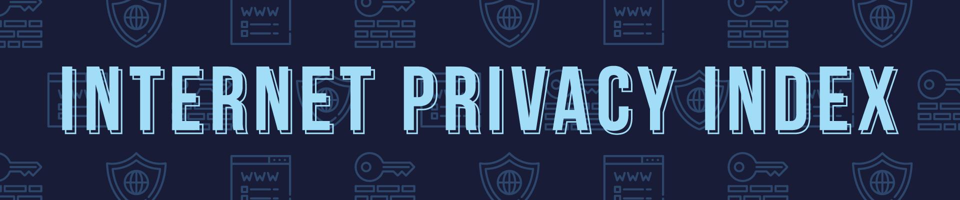 internet privacy index header