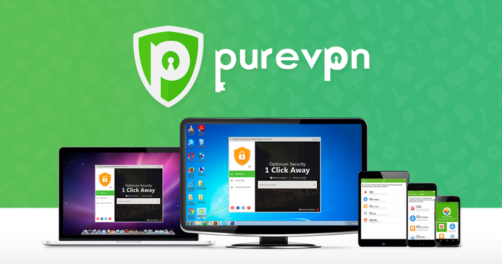 pure vpn desktop
