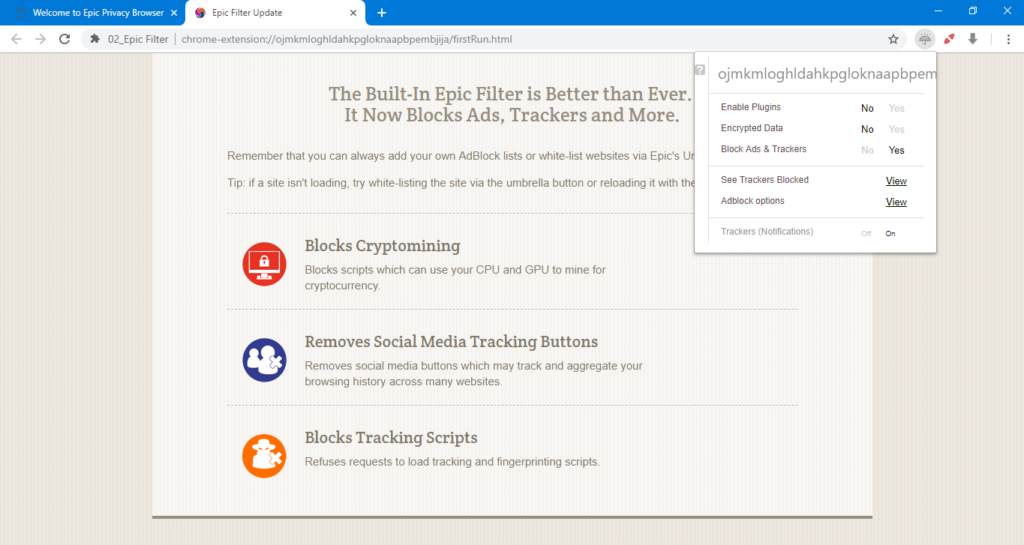 Epic browser 1