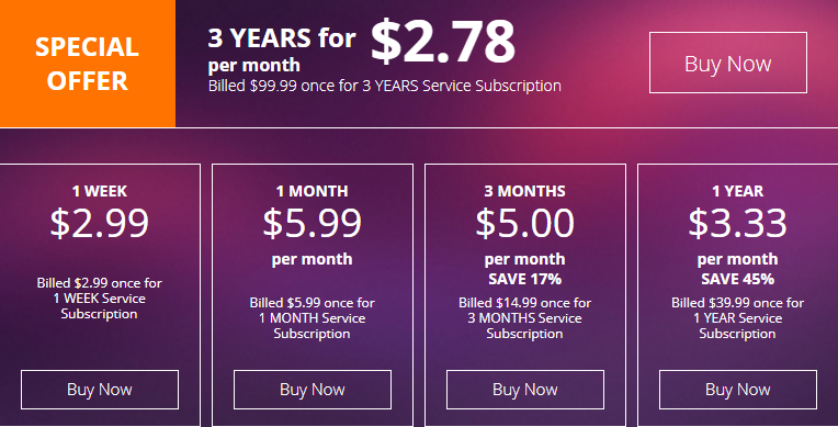 VPN_Shield_pricing