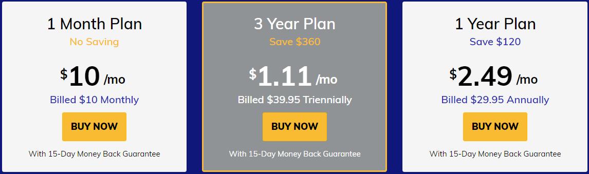 FastestVPN_pricing