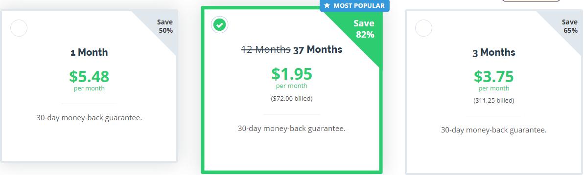 PrivateVPN_pricing